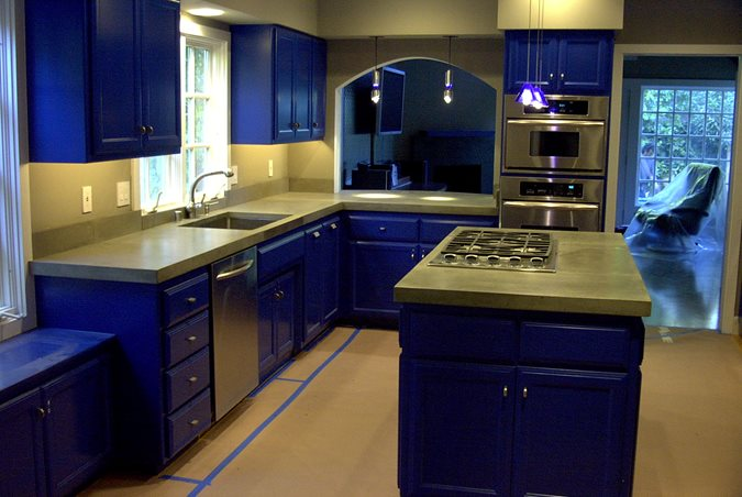 Rosemary, Trowel Concrete Countertops Concrete Interiors Martinez, CA
