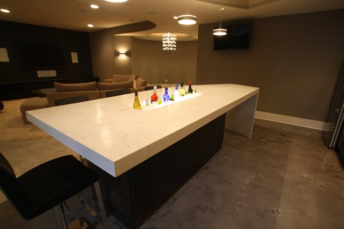 Concrete Countertops Stockness Construction Inc Hugo, MN