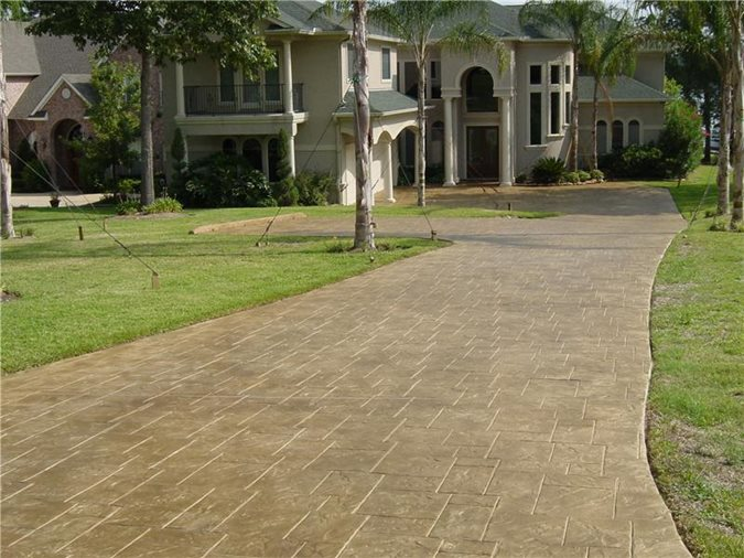 concrete drivewaysadvanced concrete designs inchumble tx