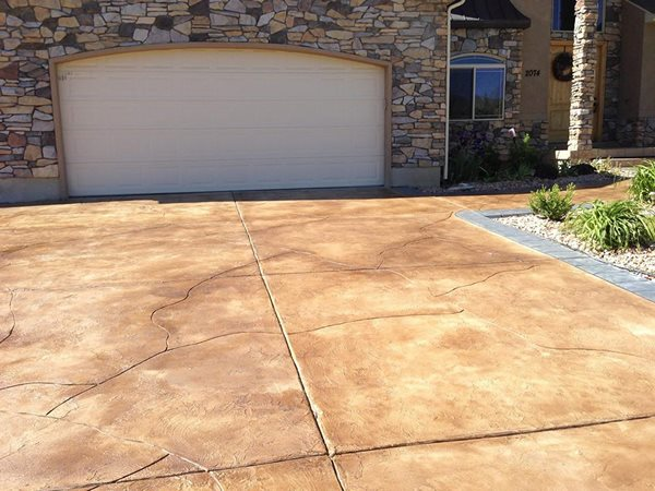 Driveway Overlay, Driveway Resurfacing Concrete Driveways Texas Diamondback Concrete Resurfacing Lubbock, TX