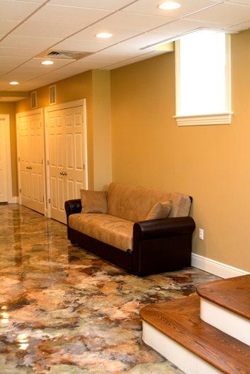 Custom Concrete Flooring : Photo gallery concrete floors west hartford ct the