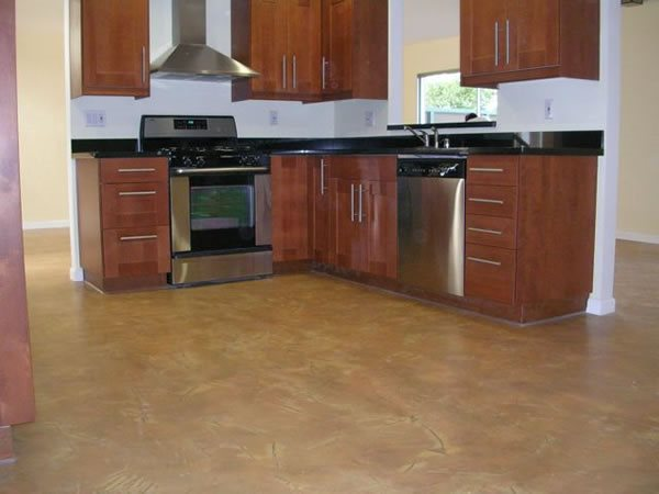 Photo gallery concrete floors san francisco ca the for Residential concrete floors