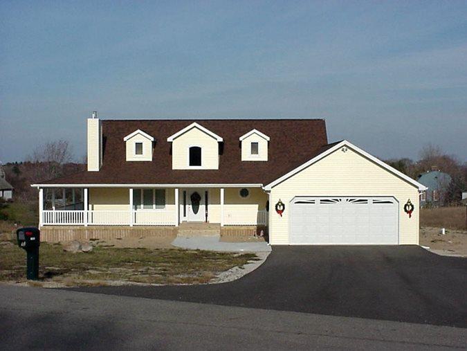 Yellow, Farm Concrete Homes Fox Blocks Omaha, NE