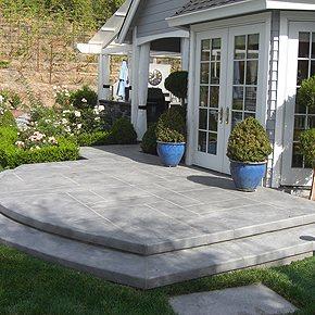 Photo Gallery - Concrete Patios - Petaluma, CA - The ... on Poured Concrete Patio Ideas id=28129