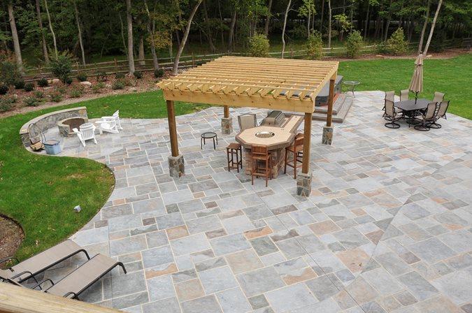 Concrete Patios Salzano Custom Concrete Centreville, VA