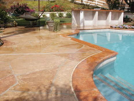 Overlay Concrete Pool Decks Concrete Craftsmen Santee, CA