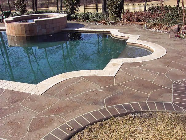 Photo Gallery Concrete Pool Decks Denton TX The