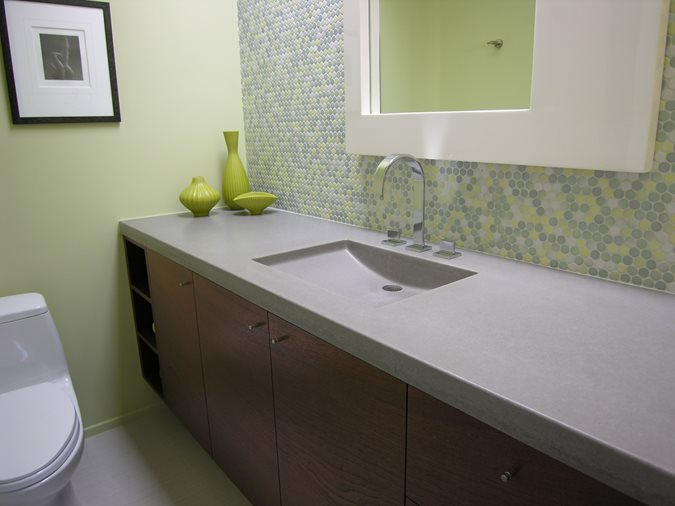 Cement Bathroom Sink : Photo Gallery - Concrete Sinks - San Diego, CA - The Concrete Network