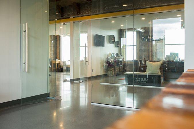 Caston Development Offices Concrete Walkways Concrete Expressions ,