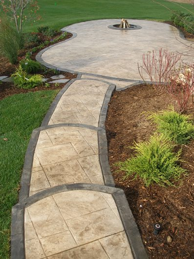 how to fix cement walkways