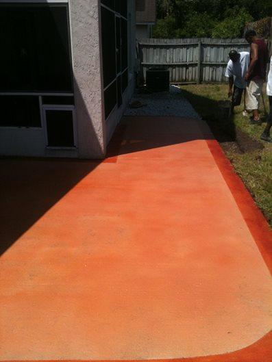 Photo Gallery Concrete Walkways Jacksonville Fl The