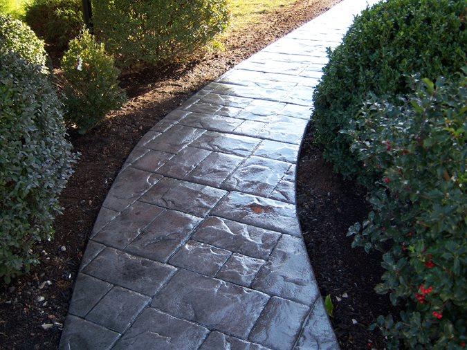 Photo Gallery Concrete Walkways Exton Pa The
