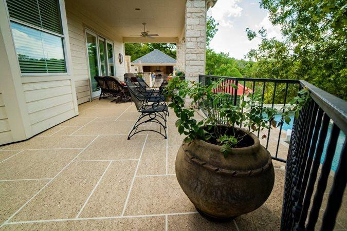 Aggregate Effects, Concrete Coating Exposed Aggregate Sundek of Austin Austin, TX