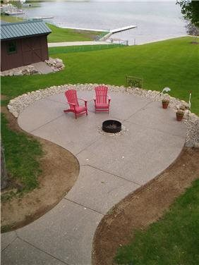 Patio, Exposed Aggregate, Pebble Exposed Aggregate Concreations, LLC Millersburg, IN