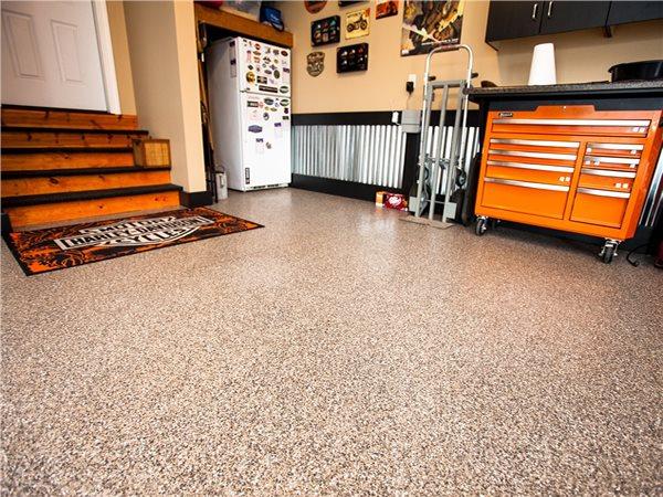 Epoxy Flake, Garage Floor Garage Floors Symphony Concrete Coatings Burlington, MA