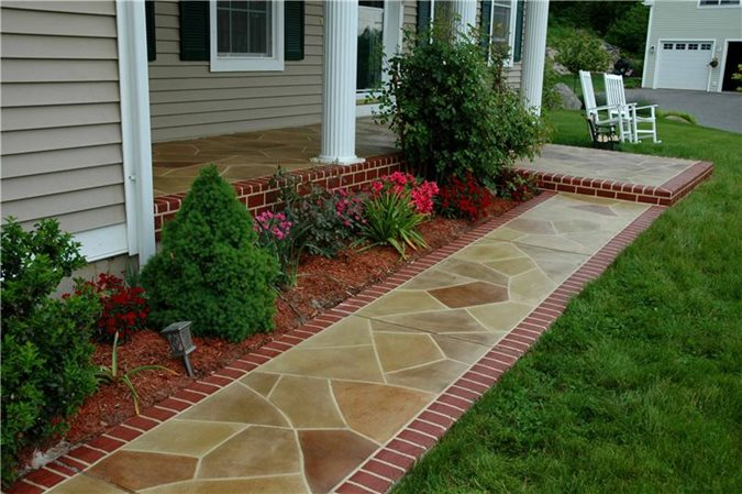 Get the Look - Exterior Overlays Custom Concrete Solutions, LLC West Hartford, CT