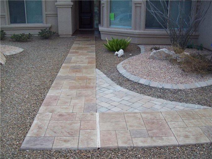 Get the Look - Exterior Overlays Decorkrete Inc. Tucson, AZ