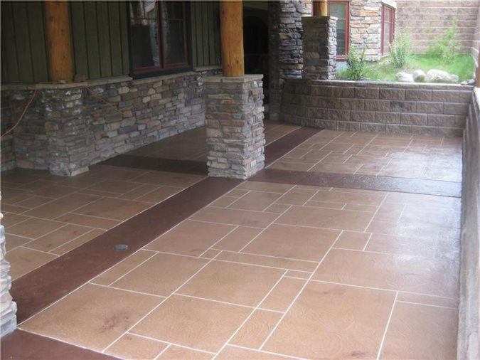 Photo Gallery Get The Look Exterior Overlays Golden Co The Concrete Network