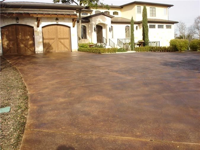 Get the Look - Exterior Staining Gkrete Dripping Springs, TX