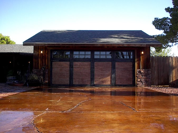 Photo Gallery Get The Look Exterior Staining Las Vegas Nv The Concrete Network