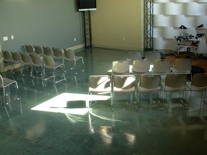 Blue, Aqua Get the Look - Stained Floors Innovative Concrete Surfaces, Inc Bonita Springs, FL