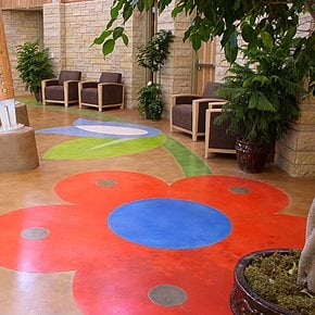 Get the Look - Stained Floors Specialized Construction Services, Inc. ,