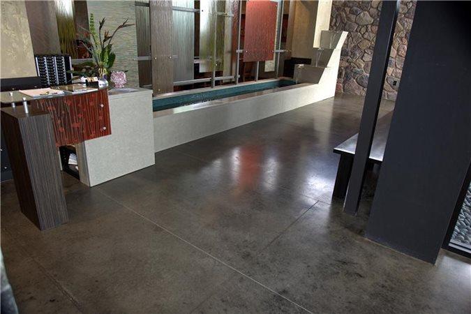 Black Gray Floors Max Power Concrete Columbus, OH