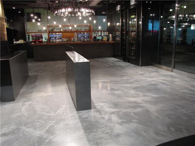 Gray Floors Concrete Inspirations Calgary, AB