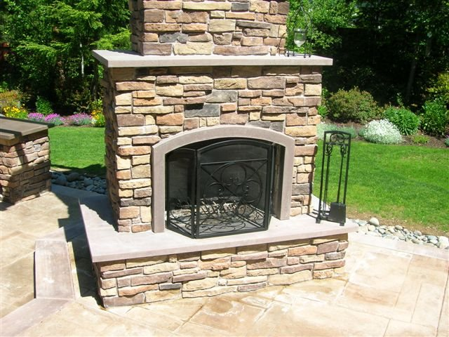 photo gallery outdoor fireplaces poulsbo wa the
