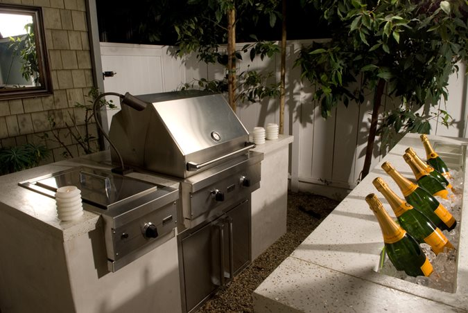 Photo Gallery Outdoor Kitchens Costa Mesa Ca The Concrete Network
