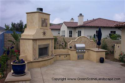 Photo gallery outdoor kitchens chatsworth ca the for Spanish style outdoor kitchen