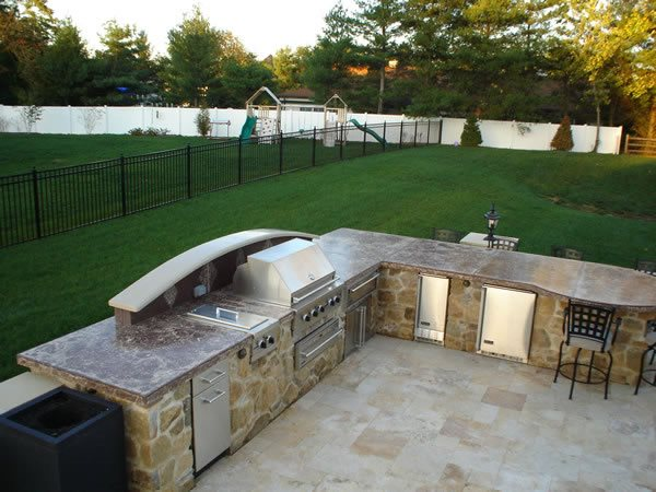 Outdoor Kitchens 11 moreover Outdoor Fireplace Design Ideas Outdoor ...