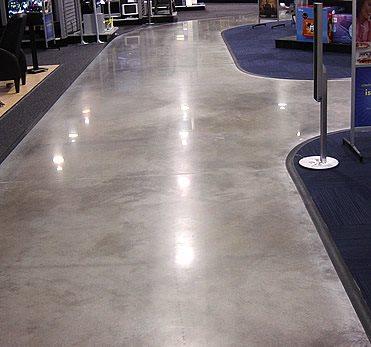 Polished Concrete, Polishing Concrete Polished Concrete Ritonya Concrete & Stone Services Omaha, NE