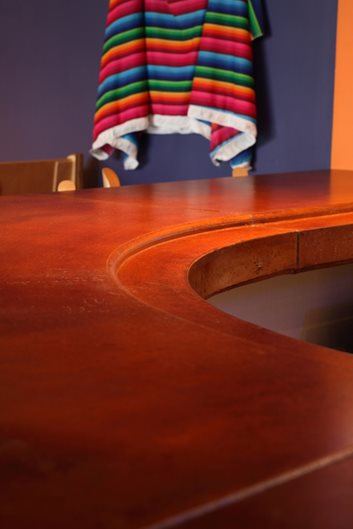 Round, Red, Countertop Products