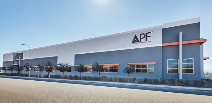 Apf Facility Site Arizona Polymer Flooring Glendale, AZ