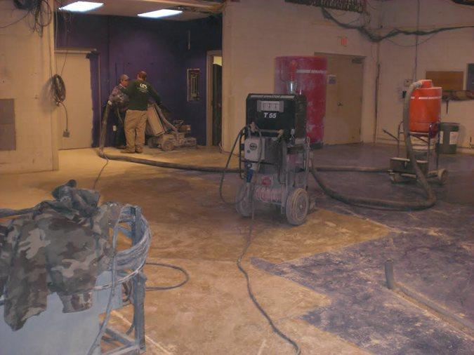 Before Site Concrete Repair Specialist, LLC Chattanoga, TN