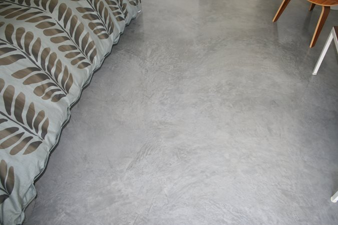 Burnished Floor, Monet Finish Site Tom Ralston Concrete Santa Cruz, CA