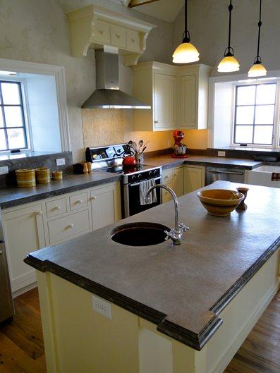 Cast Counter Site Tellus 360 Design & Build Lancaster, PA