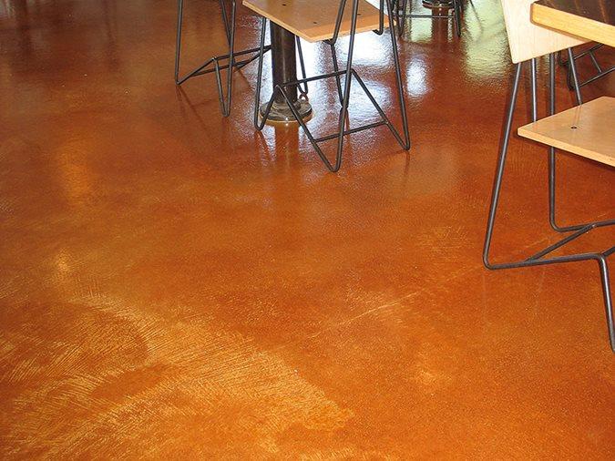 Chipotle, Concrete Floor, Stained Site SolCrete Denton, TX