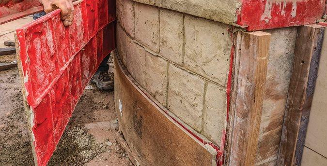 Cobblestone, Form Liner Site Butterfield Color® Aurora, IL
