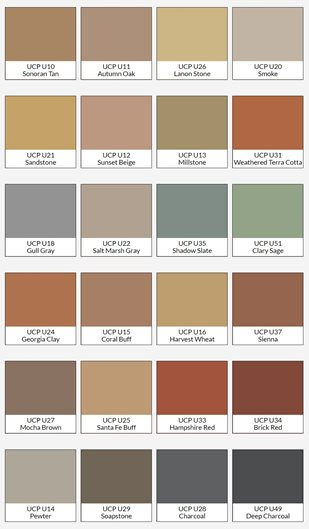 Color Chart, Overlay Colors Site Butterfield Color Lorena, TX