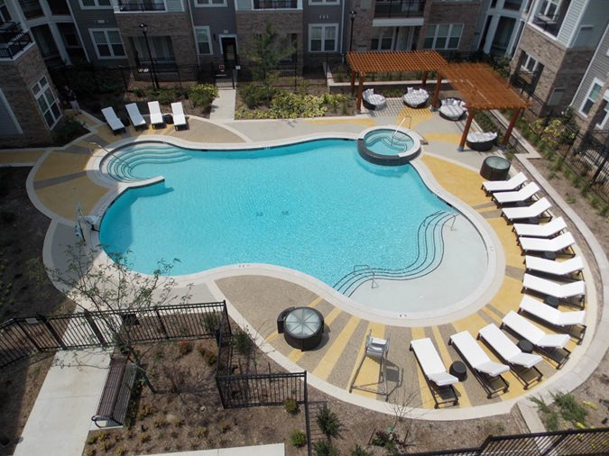 Commercial Pool Deck Site Sundek Products USA, Inc. Arlington, TX