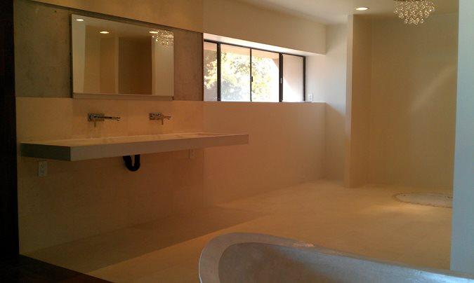 Concrete, Cantilever, Sink Site DC Custom Concrete San Diego, CA