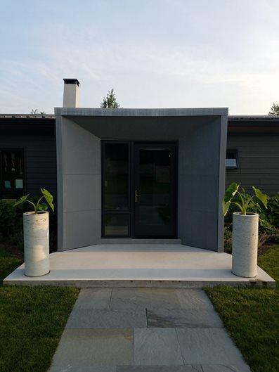 Concrete Cladding, Concrete Panels Site Marveled Designs Chatham, NY