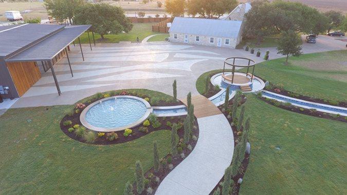Concrete Coating, Celebrino Event Center Site Sundek of Austin Austin, TX