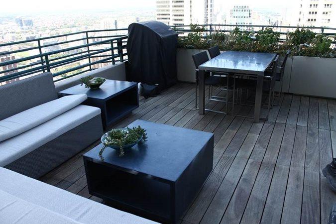 Concrete Coffee Table Site Kerr Concrete Evanston, IL