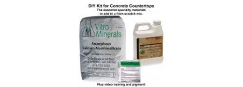 Concrete Countertop Kits Site ConcreteNetwork.com