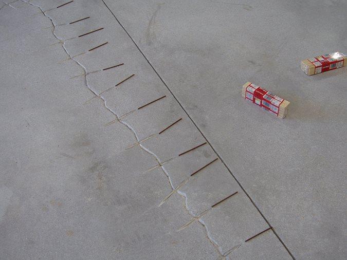 Concrete Cracks, Crack Repair Site Decorative Concrete Institute Temple, GA