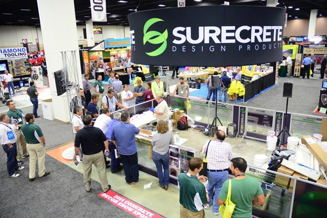 Concrete Decor Show, Expo Site Concrete Decor Show