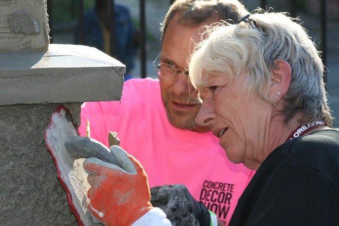 Concrete Decor Show, Hands On Training Site Concrete Decor Show